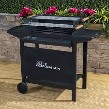 Backyard Charcoal Grill by Outsunny Charcoal Grill Bbq Trolley Backyard Garden Smoker