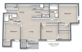3 bedroom 2 bath floor plans 3 bed 2 bath apartment in bradenton fl river trace apartments