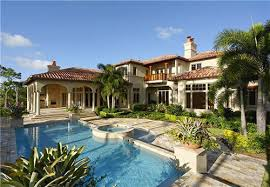 Tuscan Villa House Plans by Elegant Tuscan Home Design With Front Pool The Best Tips To Help