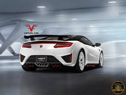 honda supercar concept what about this new acura honda nsx type r render