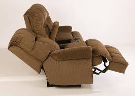 Power Reclining Loveseat Hercules Fabric Power Reclining Loveseat With Console 4830601m