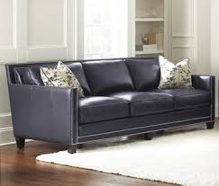 Silver Leather Sofa by Hendrix Navy Blue Leather Sofa By Steve Silver Home Gallery Stores