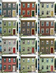 historic exterior house colors the old house blog historic