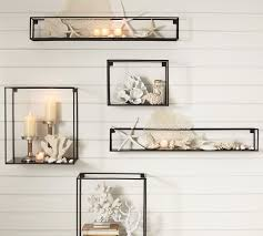 put your favourite collectibles on display with wall shelves