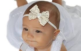 bow headbands christening headband beige bow headband lace bow headband beige