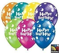 happy birthday balloon happy birthday qualatex balloons 11 inch 25 per