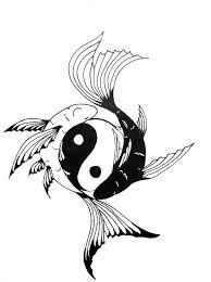 30 best koi fish yin yang images on