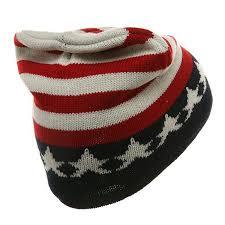 American Flag Beanie Printed Beanie Usa Flag At Amazon Men U0027s Clothing Store American