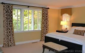 Drapes For Bay Window Pictures Window Treatments For Bedrooms Ideas Bay Window Curtain Decorating