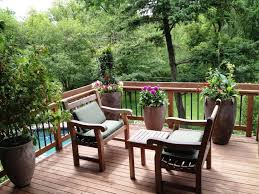 exteriors lovely small terrace balcony ideas with wooden deck