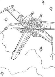 star wars coloring pages wing movie coloring pages spaceship