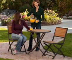 Lifetime Patio Furniture by Patio Furniture 60074 3 Piece Bistro Set Lifetime Table And Chairs