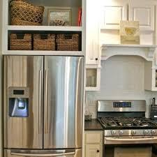 over refrigerator cabinet lowes cabinet surround for refrigerator over refrigerator cabinet