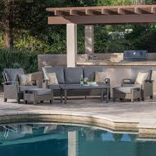 Backyard Collections Patio Furniture by Las Palmas 6pc Deep Seating Collection Mission Hills Furniture