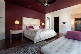 why choosing contrast wall paint for the bedroom interior home