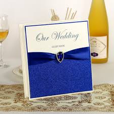 favors online blue wedding guest book wedding favors wedding supply signature