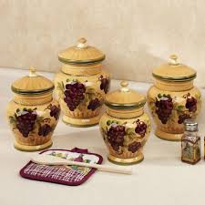 furniture home kitchen canisters ceramic sets attractive and