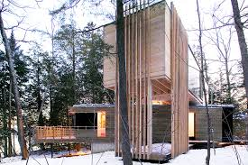 Container Home Design Books Timber Clad Shipping Container Home In Canada By Pierre Morency