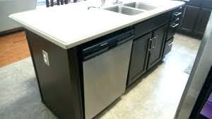 kitchen islands with dishwasher island dishwasher kitchen island with dishwasher no sink a look at