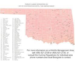 Oklahoma State Map Oklahoma Wma Maps Wisconsin Map
