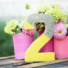 Tin Flower Vases 28 Trendy Concrete Wedding Table Decor Ideas Weddingomania