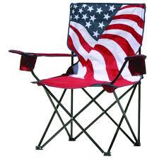 Folding Outdoor Chair Quik Chair American Flag Pattern Folding Patio Quad Chair 133924