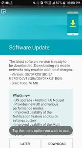 update not quite android 7 0 nougat update now arriving on