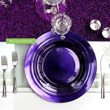 wedding plates cheap purple charger plate cheap charger plates wedding plates