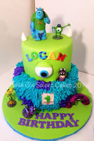 207 best cakes monsters inc images on pinterest birthday