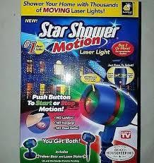 motion laser light projector star shower motion laser light star shower deluxe motion outdoor