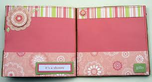 bridal shower photo album ragsnehali my creative journey in scrapbooking and paper