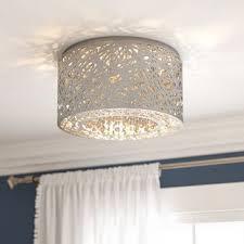 Ceiling Mount Chandelier Light Fixture Flush Mount Lighting You Ll Wayfair