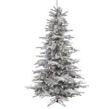 white christmas trees you u0027ll love wayfair