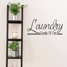 laundry room wall art quote by mirrorin notonthehighstreet com