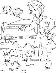 25 farm coloring pages ideas kids