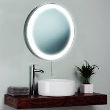 bathroom mirror ideas with lamp