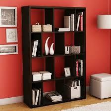 bookshelf bookcase book shelf case shelving unit dark furniture