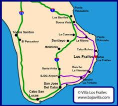 map cabo mexico villa los frailes vacation rental east cape baja mexico