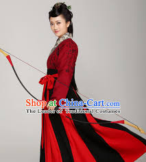 Oriental Halloween Costumes Ancient Chinese Clothing China Dance Costumes Traditional Hanfu