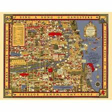 chicago map gangland map