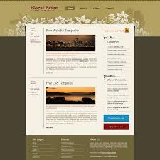 free website templates dreamweaver blog website templates
