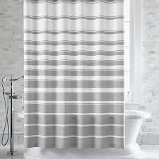 Pink Black And White Shower Curtain Fascinating Pink And White Striped Shower Curtain Contemporary