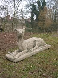 greyhound garden statue ornament berkshire