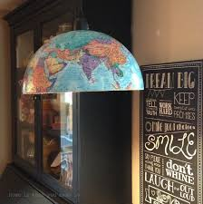 diy globe pendant light e2 80 93 home is what you make it 1 loversiq