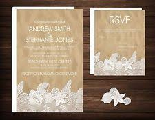 lace invitations lace wedding invitations ebay