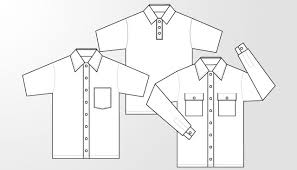 woven shirt and polo shirt template free download t shirt template