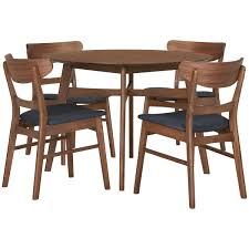 city furniture dining room furniture dining sets simplicity mid tone round table 4 chairs