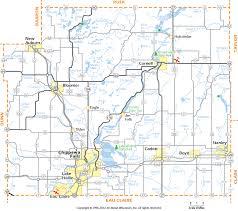 wisconsin map chippewa county wisconsin map