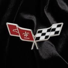 c3 corvette flags corvette lapel pin c3 corvette crossed flags
