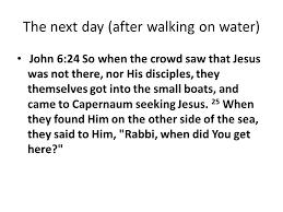 Seeking Jesus Episode Sermon The Bread For Eternity Country Oaks Baptist Church